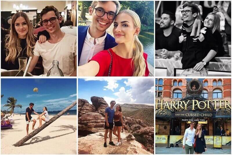 Fedor Holz's girlfriend 2018