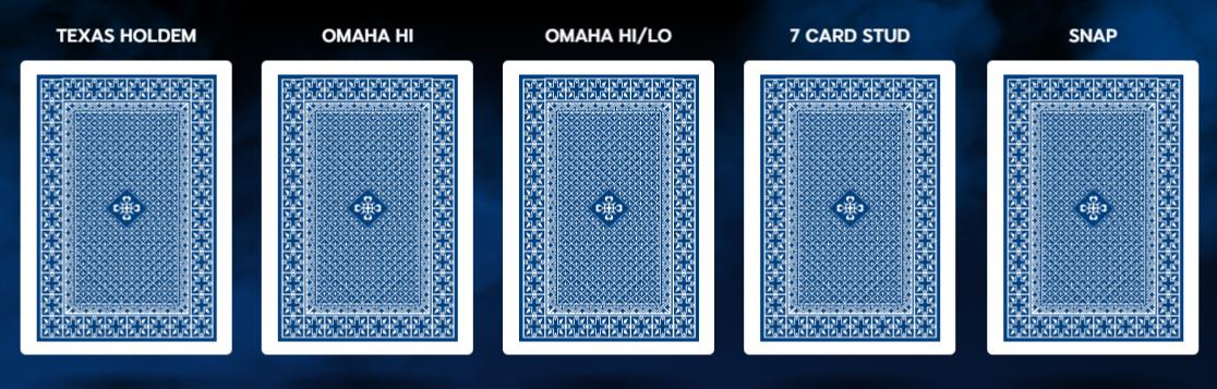 виды покера 888