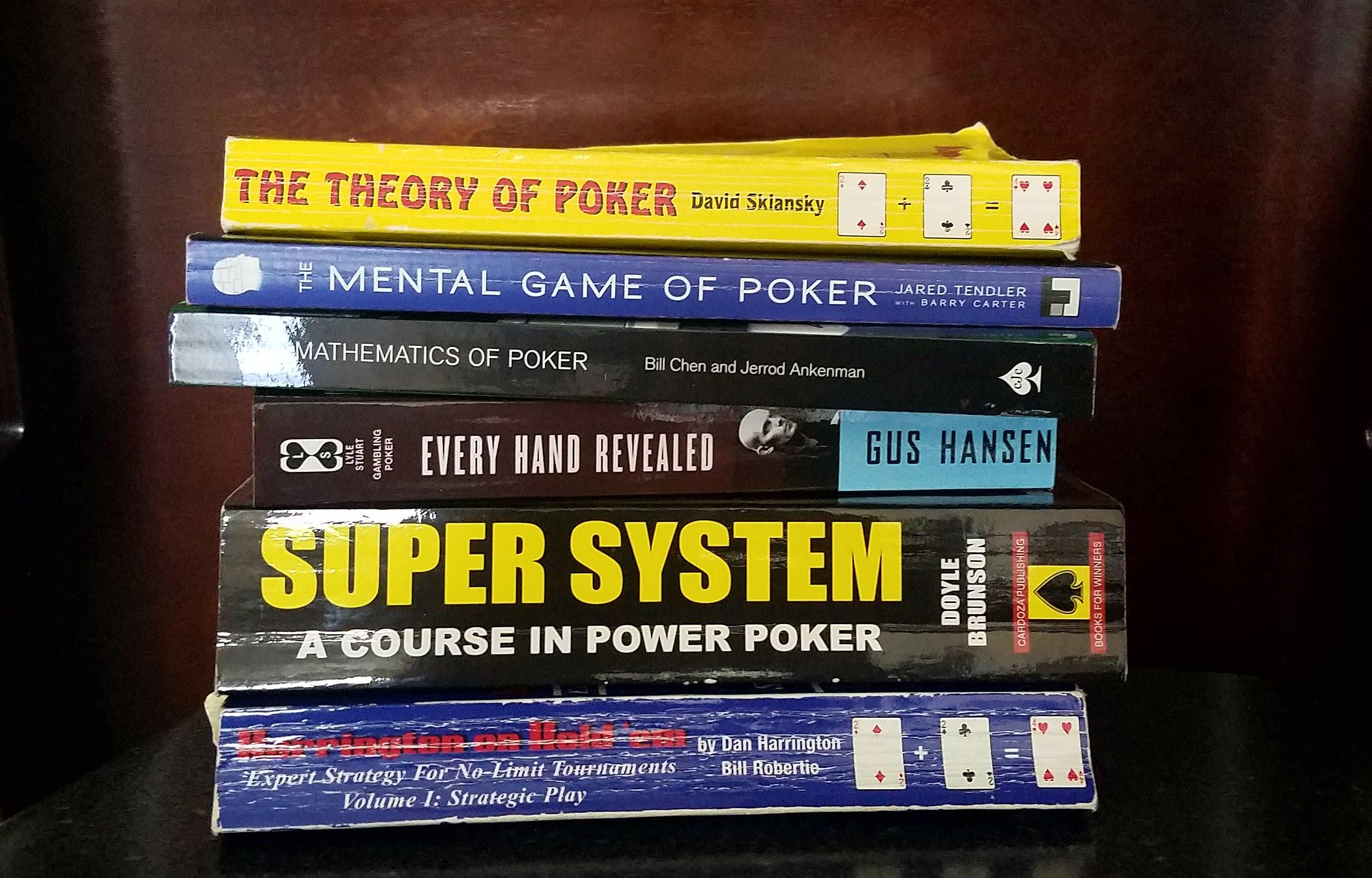 покерные книги