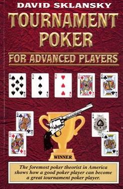 Девід Скланскі «Турнірний покер для просунутих гравців»