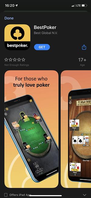 BestPoker how to get mobile app
