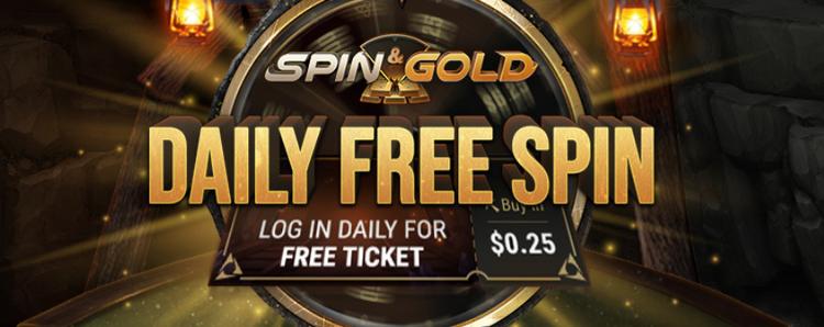 Daily Free Spin na GGPoker