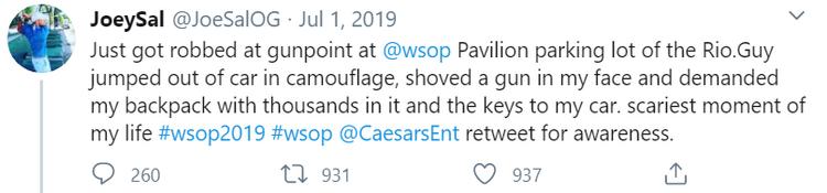 Joe Salvaggi on Twitter