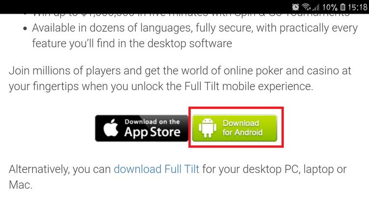 Full Tilt for Android