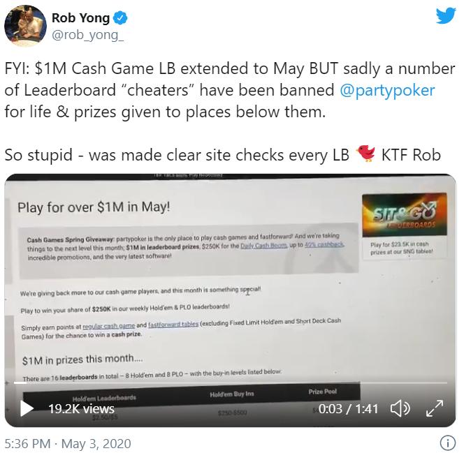 Rob Yong twitter