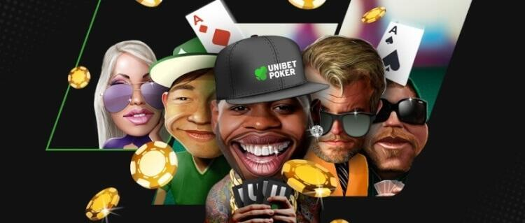 5-Max SnG leaderboards at Unibet Poker