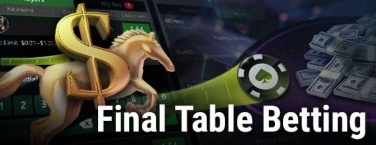 Mesa final na GGPoker