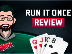 Run It Once Poker video review