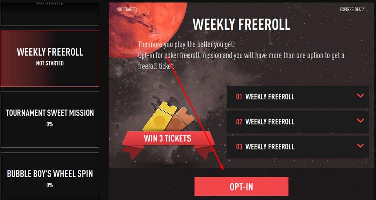 Freeroll Semanal no BestPoker