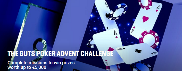 Advent Challenge na Guts Poker