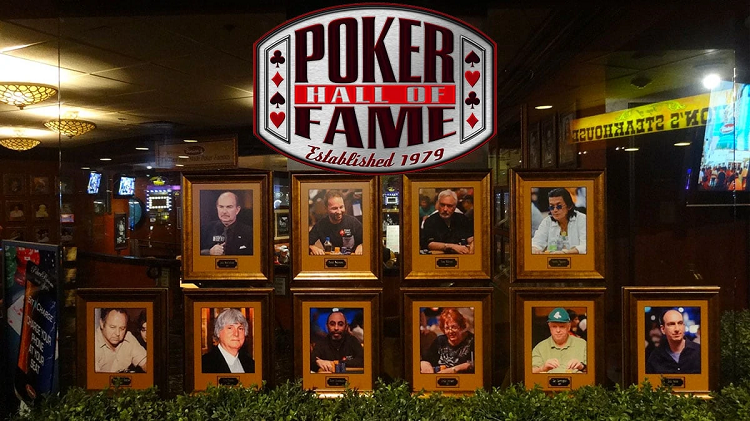 Voting for a new member of Poker Hall of Fame