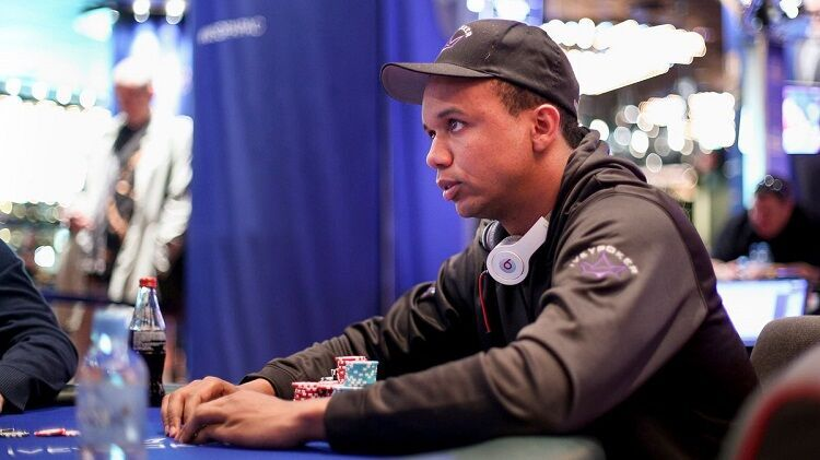 Phil Ivey and Allen Iverson