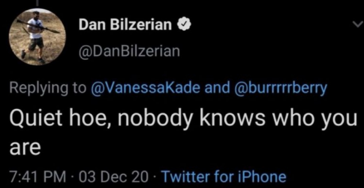 Dan Bilzerian on twitter