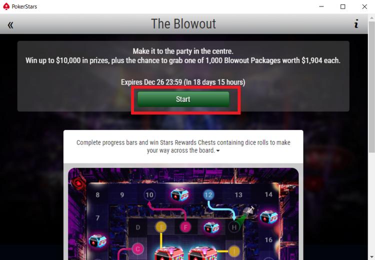 The Blowout na PokerStars