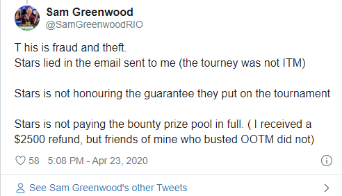Sam Greenwood on Twitter