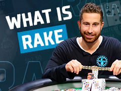 What is rake and rakeback in poker