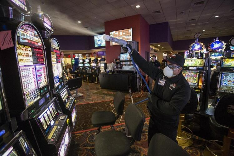 Las Vegas casinos after the pandemic