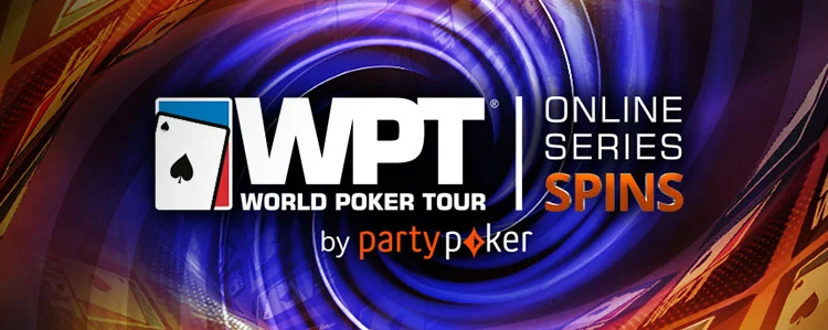 Spins tournaments at PartyPoker