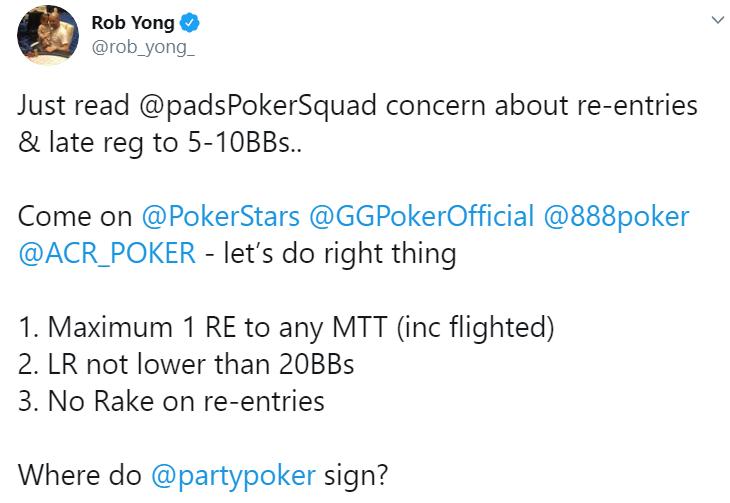 Роб Йонг твиттер