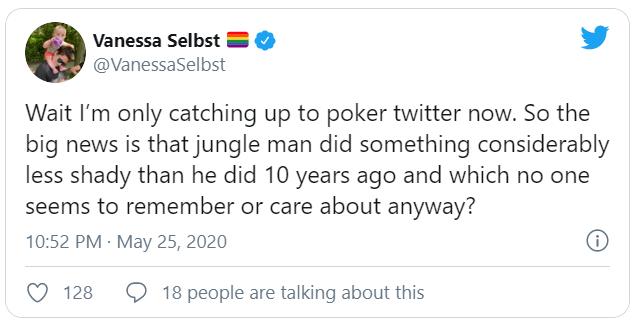 Vanessa Selbst twitter