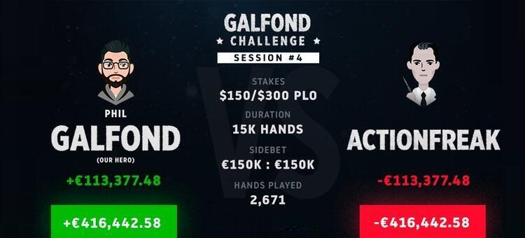 Galfond Challenge against ActionFreak
