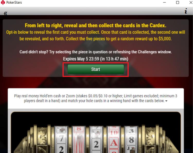 Promoções da pokerstars
