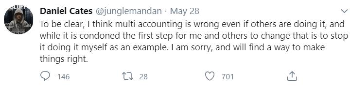 Дэн Кейтс твиттер