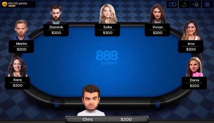 Home Games 888poker