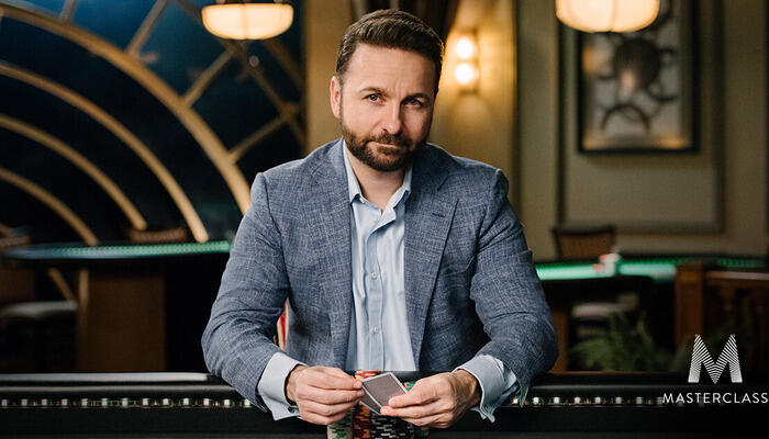 Negreanu joined MasterClass learning and teaching resource
