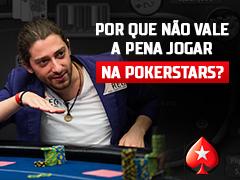Porque não jogar na PokerStars?
