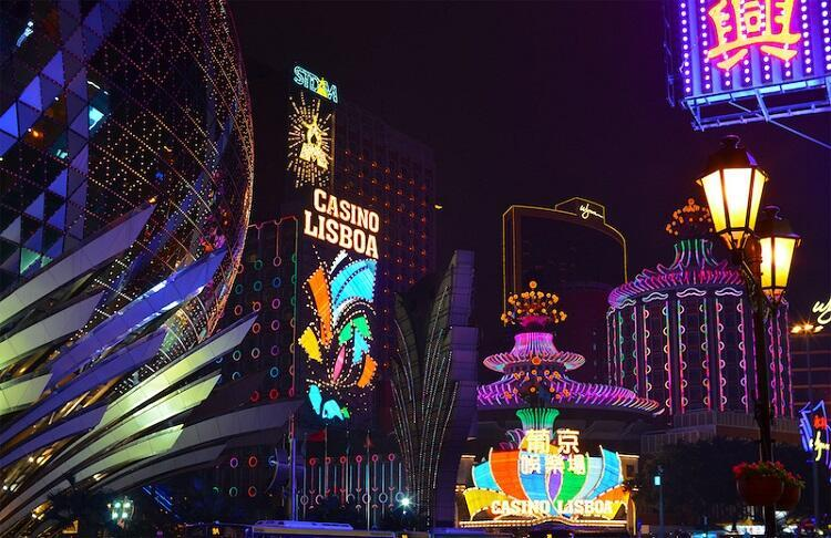 Cassinos em Macau