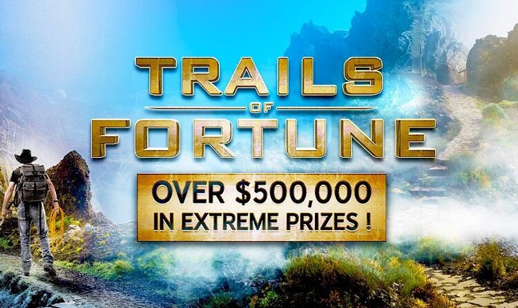 """Trails of Fortune"" na 888poker"
