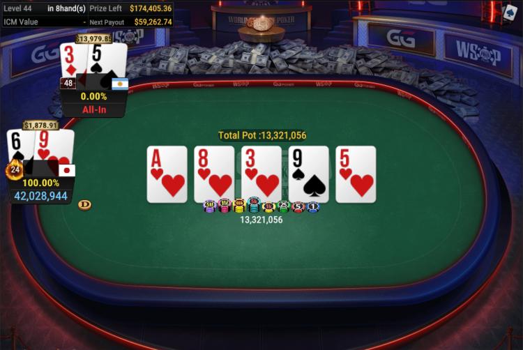 WSOP#34 for $525