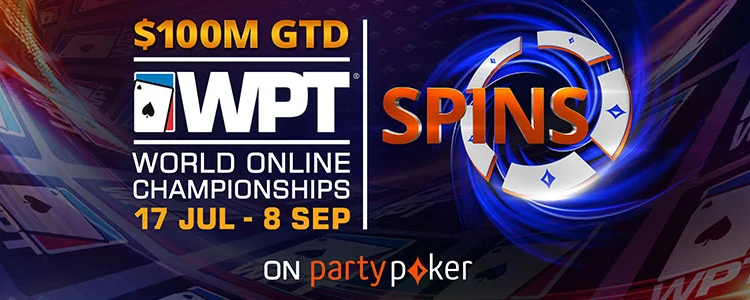 Spins na PartyPoker