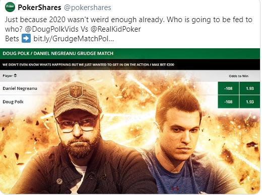 Ставки на PokerShares