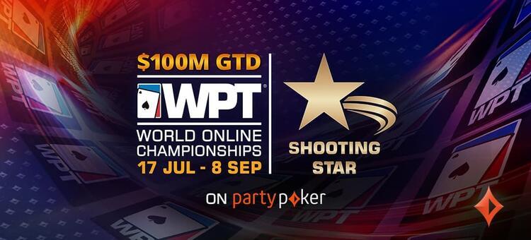 WPT Shooting Stars online
