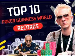 Top 10 poker Guinness World records