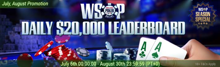 WSOP Daily Leaderboard