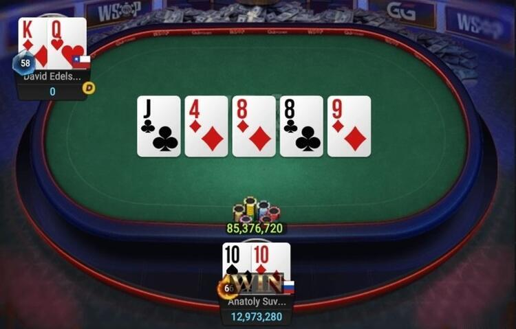 The final hand of Anatoly Suvorov at GGMasters WSOP Edition