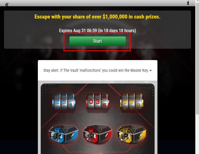 Baús na PokerStars
