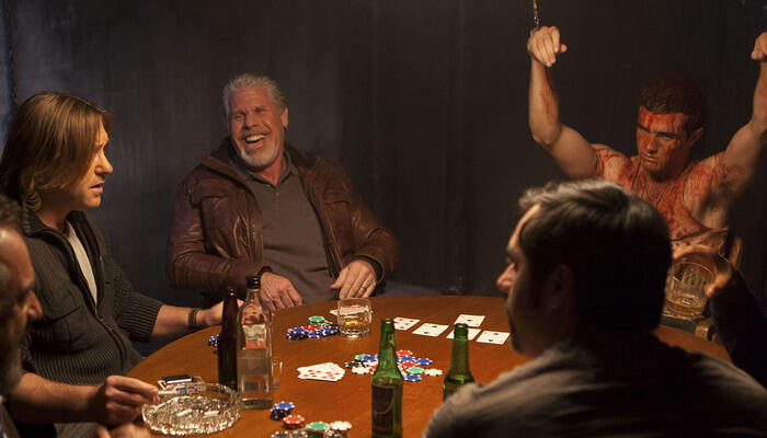 """Poker Night"" film"