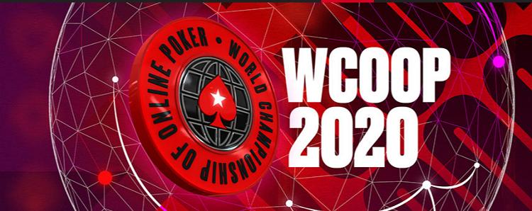 O WCOOP 2020 na PokerStars