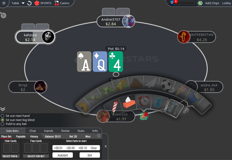 O Carbon na PokerStars