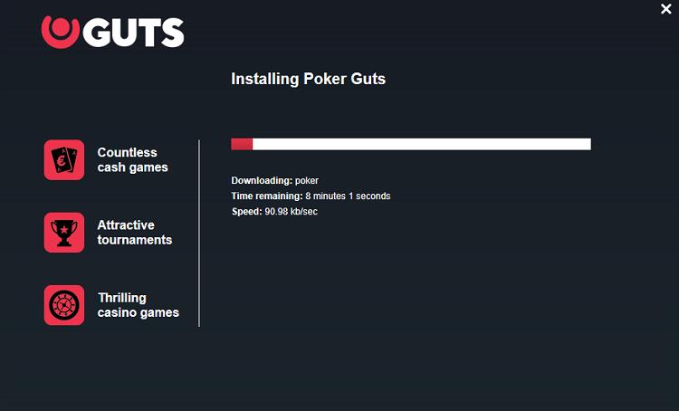 Instalação da Guts Poker 2020