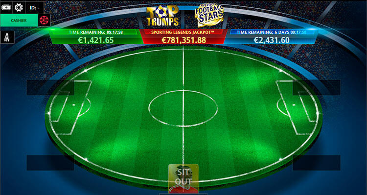 Top Trumps Football Stars format in the poker rooms of iPoker network
