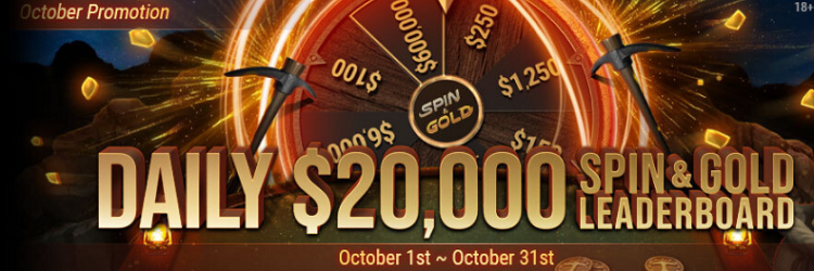 Daily Spin&Gold Leaderboard на GGпокерок