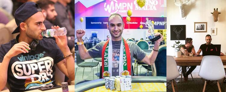 Стоян Маданжиев в покере