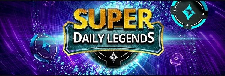 Super Daily Legends na PartyPoker