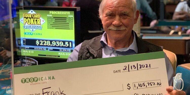 Record jackpot in Tropicana casino