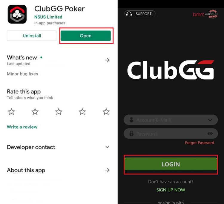 ClubGG app